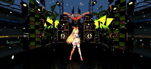 ユニティちゃん Candy Rock Star ライブステージ 01 @IDEALENS