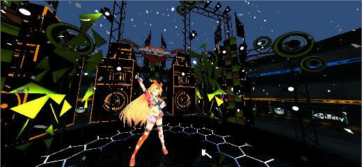 ユニティちゃん Candy Rock Star ライブステージ 02 @IDEALENS