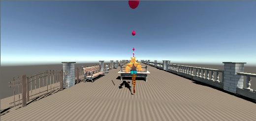 Running UnityChan 01 @IDEALENS