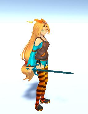 Unitychan Azure Sword 2