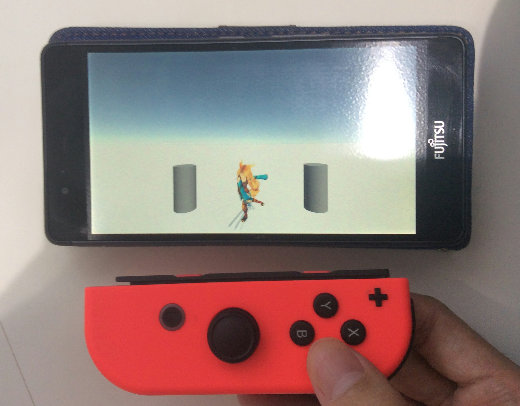 Unity Nintendo Switch Mobile Mode Android Joy-Con
