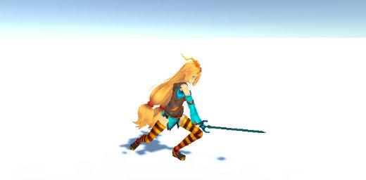 Unity IDEALENS Joy-Con Sword Attack